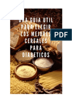Una Guía Útil Para Elegir Los Mejores Cereales Para Diabéticos