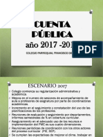 Cuenta Publica 2017