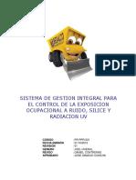 Sistema Gestión Control Exposición a Ruido, Sílice y Rx UV.pdf