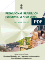 Economic Census Prov Results 2005