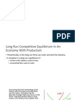 Additional Slides on LR and SR Equilibrium