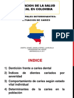Situacion Bucal Colombia Caries