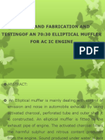 Elliptical Muffler