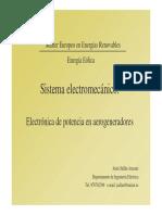 Aspectos Teoricos Energia Eolica - Sistemas Electromecánicos