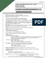 Apostial de Análise Estrutural I - Resumo Lançamento Estruturas