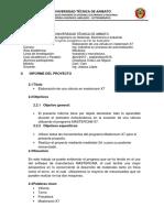 Informe Proyecto Cad Cam