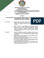 SK Kewajiban Mengikuti Program Orientasi Bagi Kepala Puskesmas, Penanggung Jawab Program
