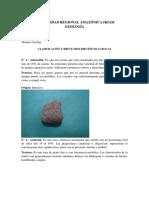 Geología Rocas