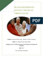 Guía de intervención logopedia para adultos mayores