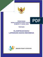 Klasifikasi Baku Lapangan Usaha Indonesia (KBLI) Tahun 2009.pdf