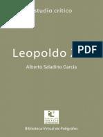 Saladino García, Alberto - Leopoldo Zea. Estudio Crítico