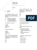 Examen Biologia Quimica y Fiisica 2p
