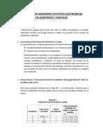 Contraste de Medidores Estaticos Electronicos Ciclometricos y Digitales