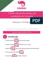 Como Crear Una Pagina de Facebook ZopingWeb