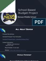 bloom benson middle school