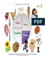 Myplate Healthy Protein Foods Activity Page