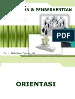 6 Orientation Placement Pemberhentian Kerja