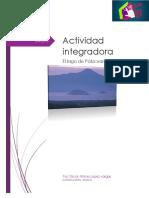 actividad integradora El Lago de Patzcuaro.