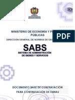 Dbc Para La Contratación de Obras - Lp - Const.u.e Andres Bello