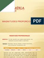 2.Magnitudes proporcionadas