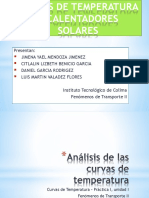 Unidad I - Curvas de Temperatura y Calentadores Solares
