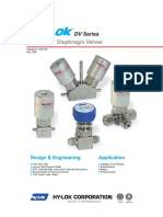 DV Series Diaphragm Valves [Aug.2006]