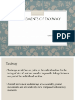 Design Elements of Airport Taxiway