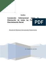 Análisis Conv Int Sobre La Eliminación de Todas Las Formas de Discriminación Racial