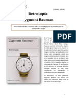 Retrotopia - Zygmunt Bauman Sinopse
