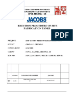 Tankage Erection_procedure -Cpcl Site