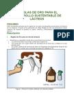 8 Reglas de Oro Para El Desarrollo Sustentable de Lácteos