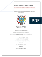Informe 5 - Circuitos Operacionales