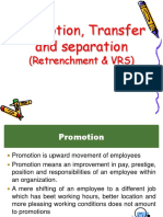 Promotion, Transfer