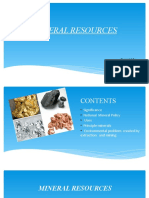 Mineral Resources Seminar