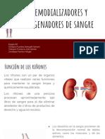 Hemodializadores y Oxigenadores de Sangre