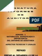 Semana 1 y 2 - Informes de Auditoría.ppt