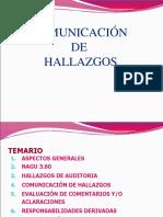 Semana 4 Comunicación de Hallazgos - Informes de Auditoría.ppt