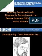 Diseño y Construcción de Sistemas de Sostenimiento de Excavaciones en Edificios de Varios Sótanos