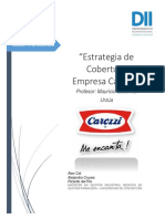 Estrategia de Cobertura Empresa Carozzi