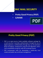 Electronic Mail Security