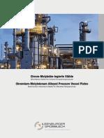 Chromium Molybdenum Alloyed Pressure Vessel Plates PDF