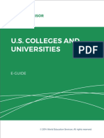 Eguide Wesa Us Colleges and Universities