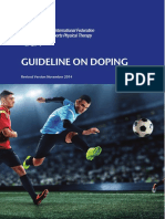 IFSPT Guideline on Doping 2015 Final