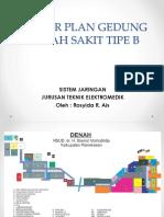 Master Plan Gedung Rumah Sakit Tipe b