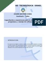 Diseño Instruccional_Capacitación a maestros/as para la integración de programas y  manejo de software libre.