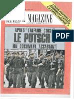 Europe Magazine - Avril 1980