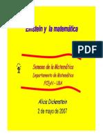 4.3 Einstein y La Matematica Geometria - Follet