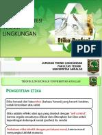 PTL 2 Kode Etik Profesi