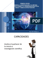 Ciencia Investigación y MC
