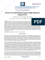 Review on Distributed Canny Edge Detectorusing Fpga